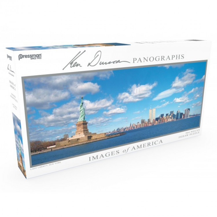 Puzzle: Panoramic: Lady Liberty: #504