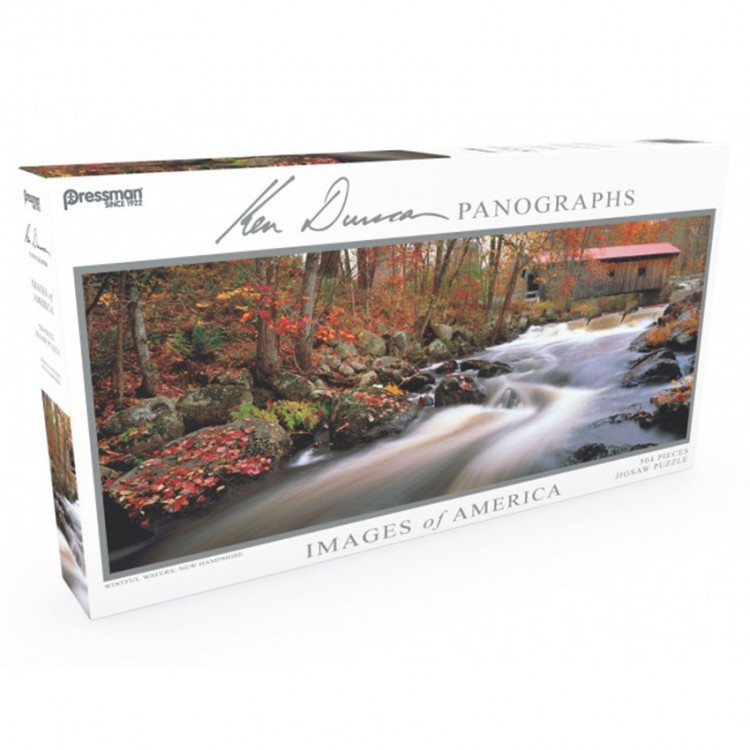 Puzzle: Panoramic: Wistful Waters: #504