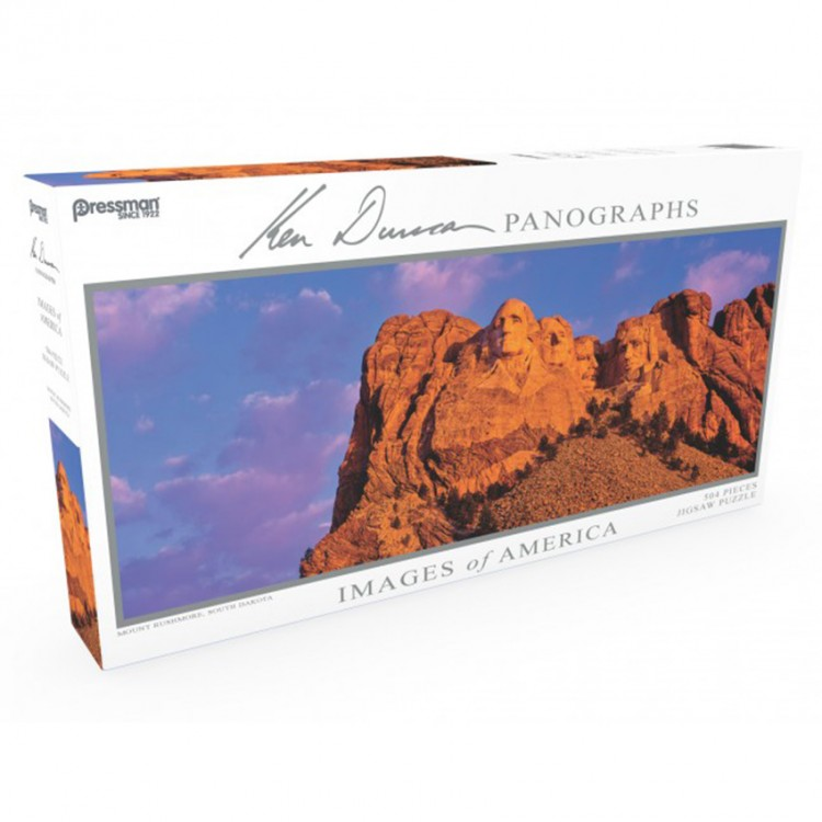 Puzzle: Panoramic: Mt. Rushmore: #504