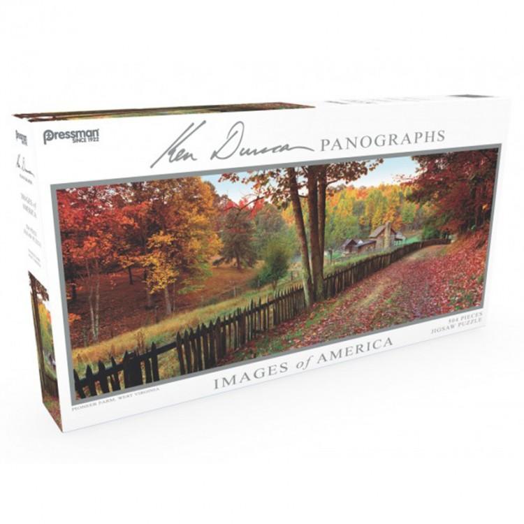 Puzzle: Panoramic: Pioneer Farm: #504