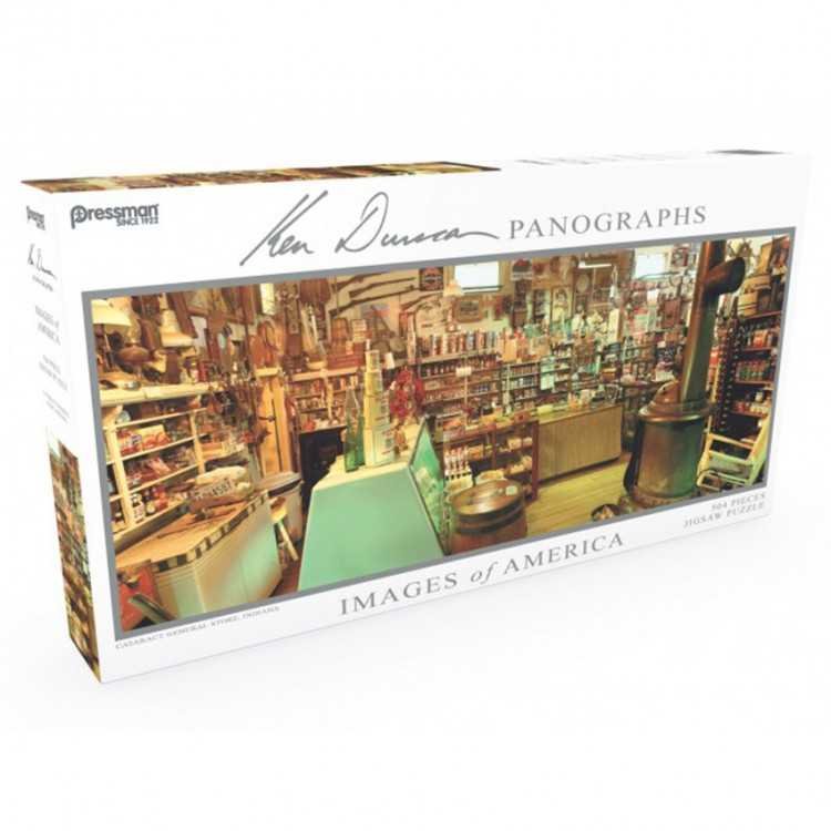 Puzzle: Panoramic: Cataract Store: #504