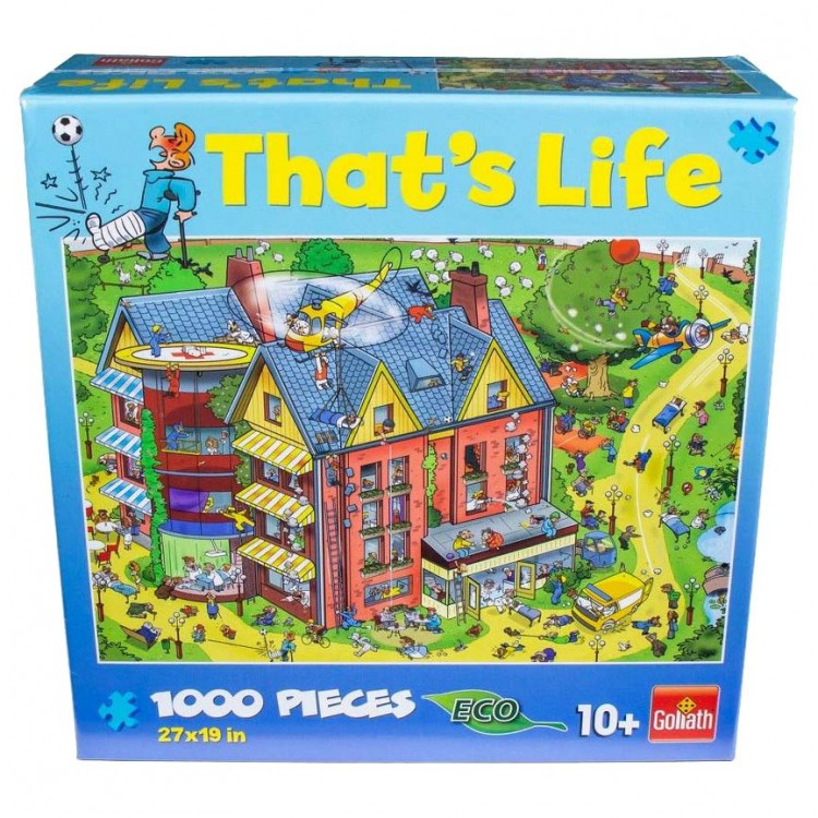 Puzzle: That's Life: Hospital: 1K Pieces