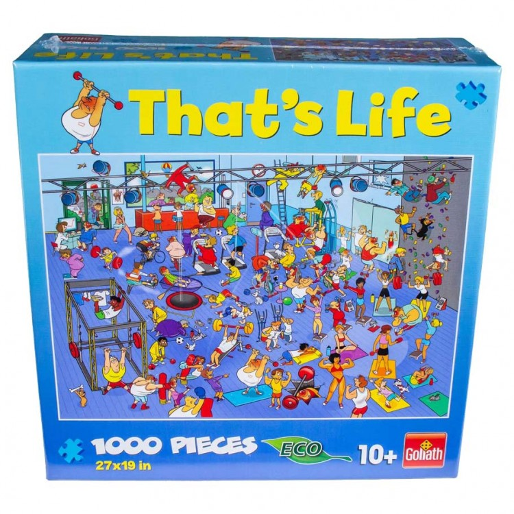 Puzzle: That's Life: Gym: 1000 Pieces