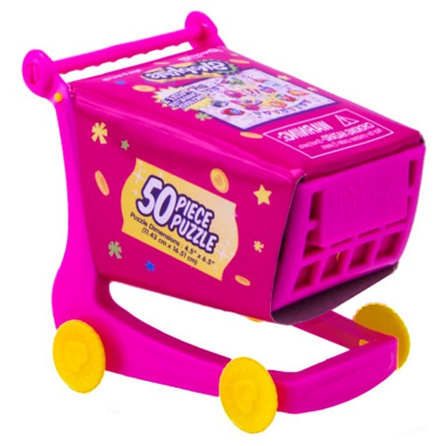 Shopkins Puzzle in Shopping Cart