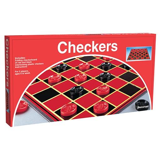 Checkers (Folding Board)