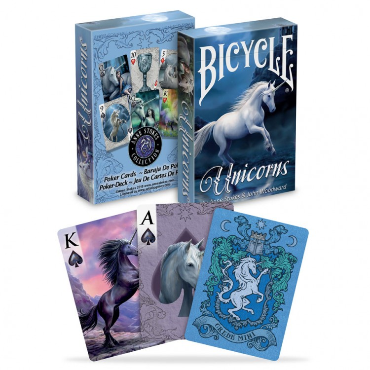Playing Cards: Anne Stokes Unicorns
