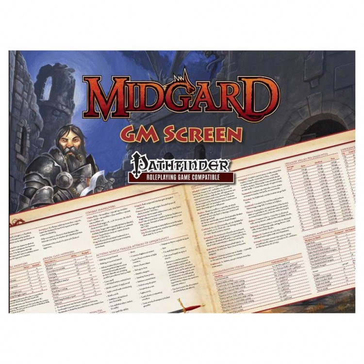 PF: Midgard GM Screen