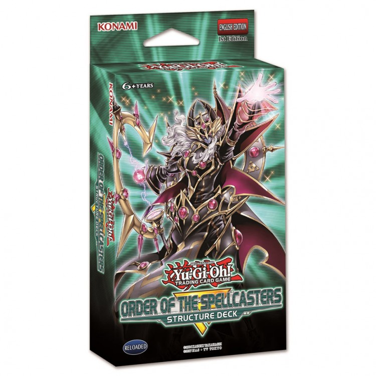 Yu-Gi-Oh!: Order of Spellcasters SD