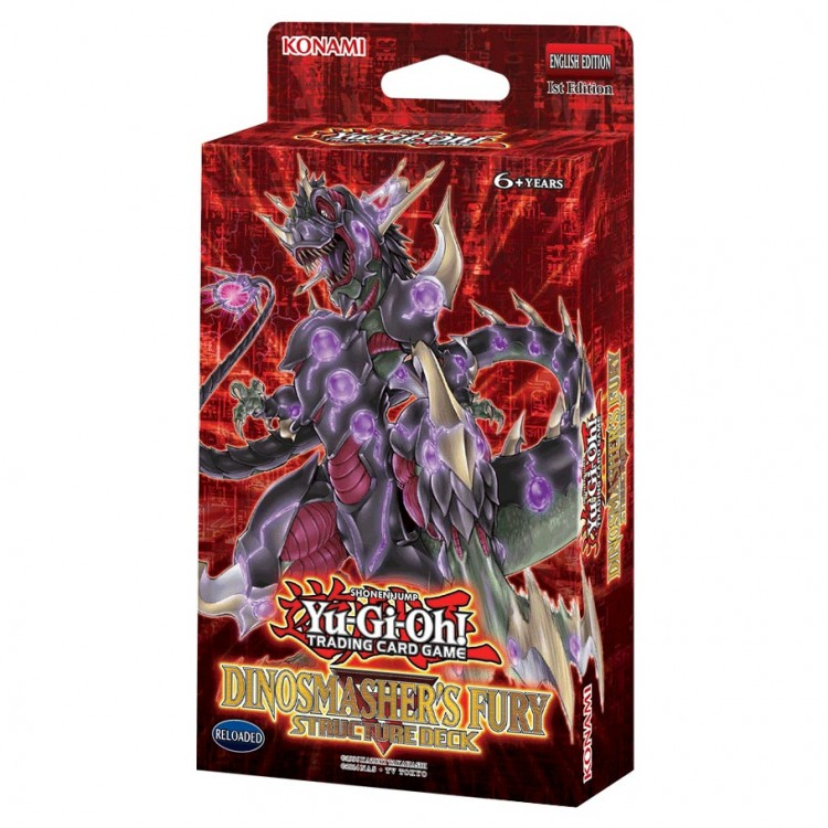 YGO: Dinosmasher's Fury SD