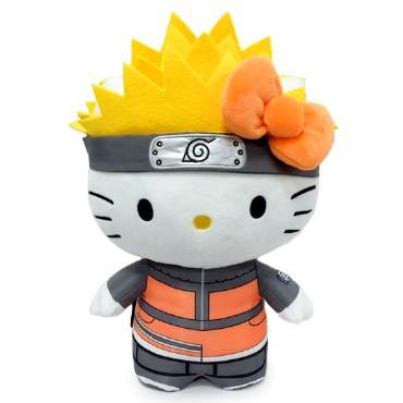 """Plush: Naruto x Hello Kitty 13"""": Naruto"""