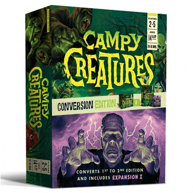 Campy Creatures: Conversion Edition