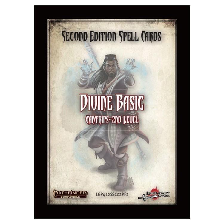 PF2E: Spell Cards: Divine Basic