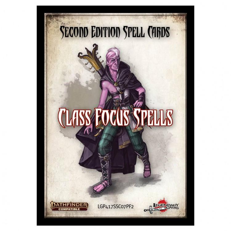 PF2E: Spell Cards: Class Focus Spells