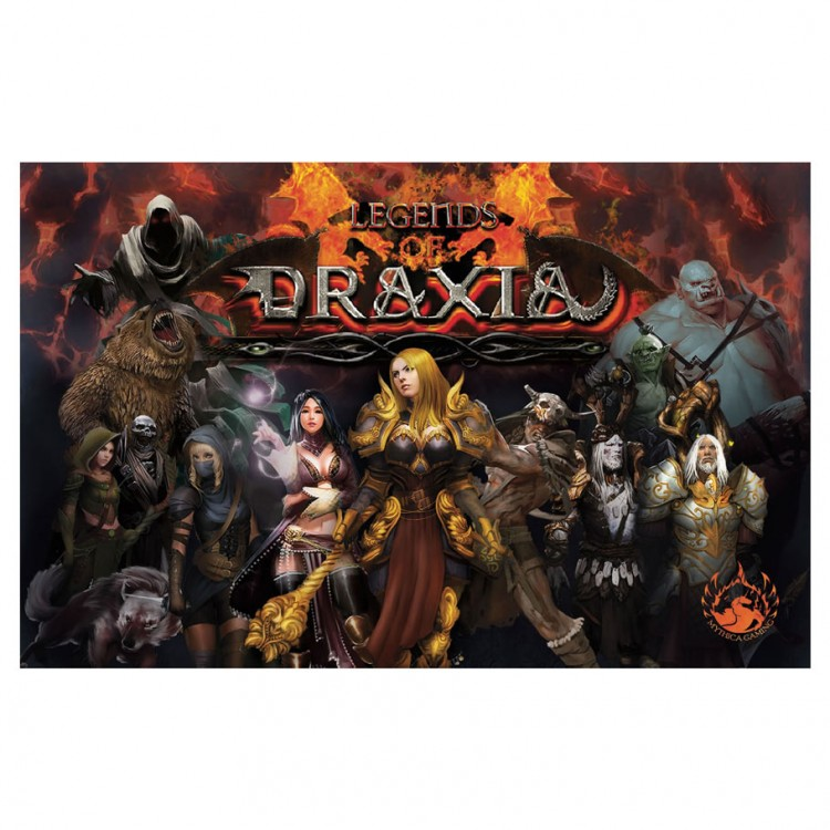 Legends of Draxia Base Game