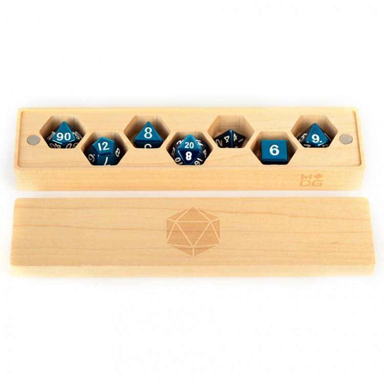 Wood Dice Vault: Maple