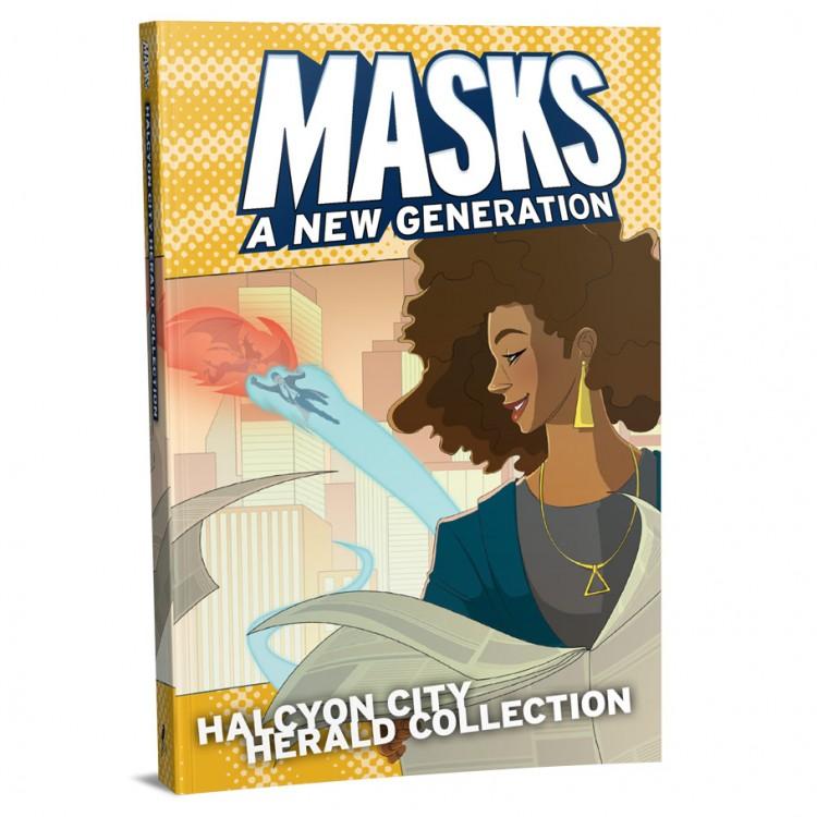 Masks: Halcyon City: Herald Collect (HC)
