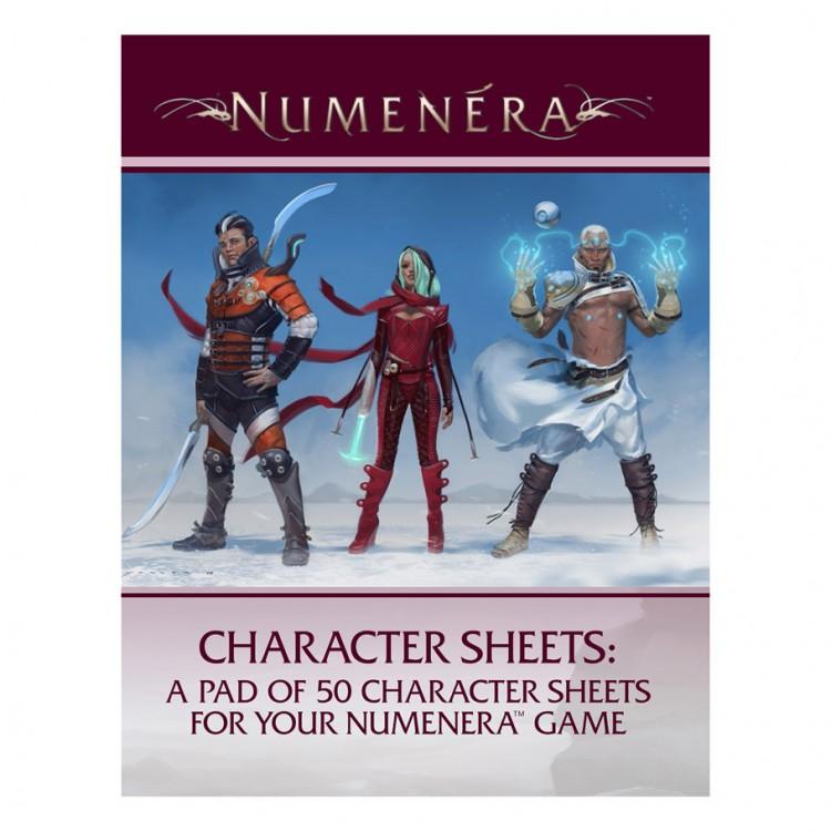 Numenera: Character Sheets