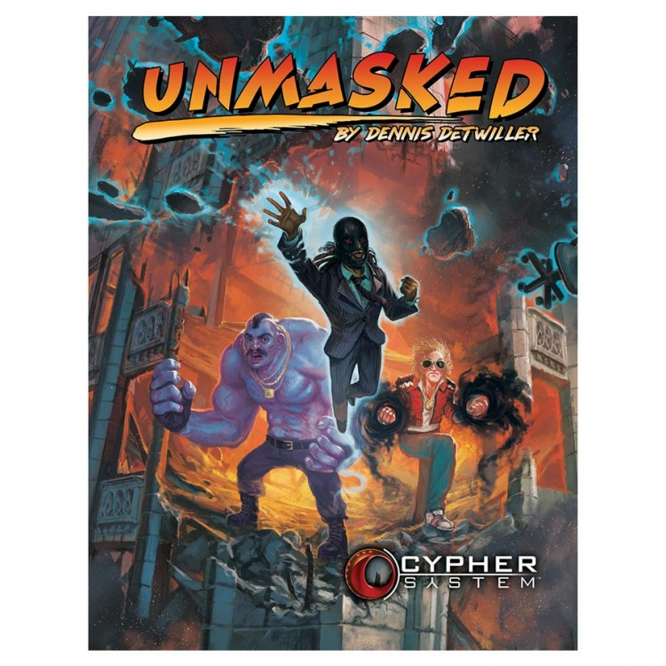 Cypher System: Unmasked