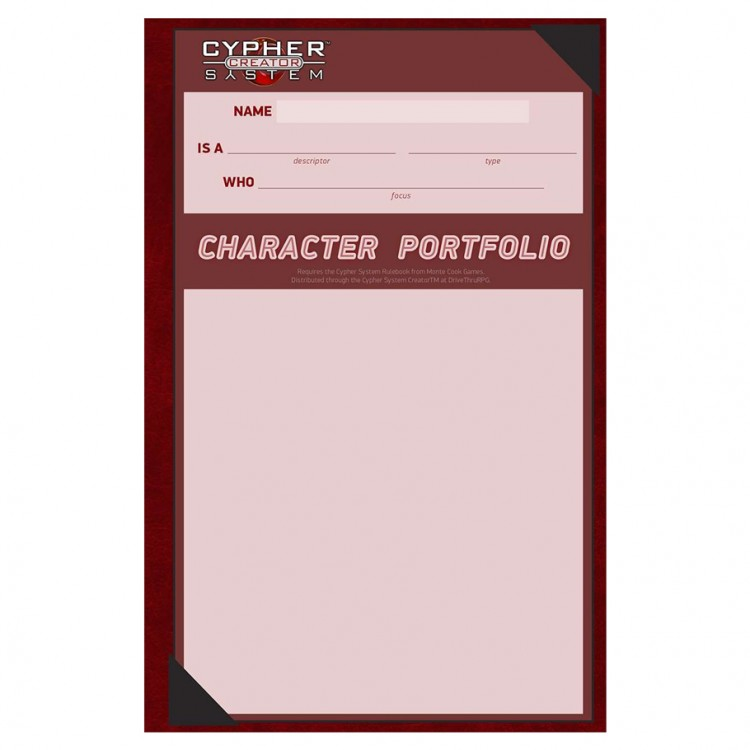 Cypher System: Character Portfolio