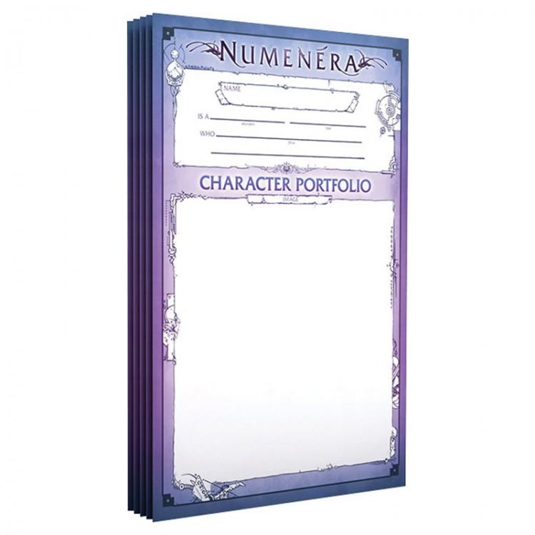 Numenera Character Portfolios (5pk)