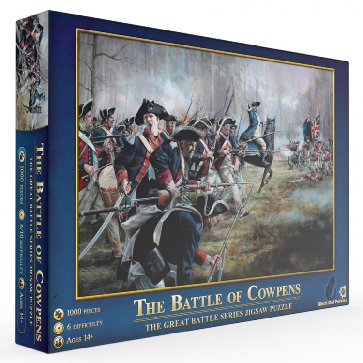Puzzle: The Battle of Cowpens 1000pc