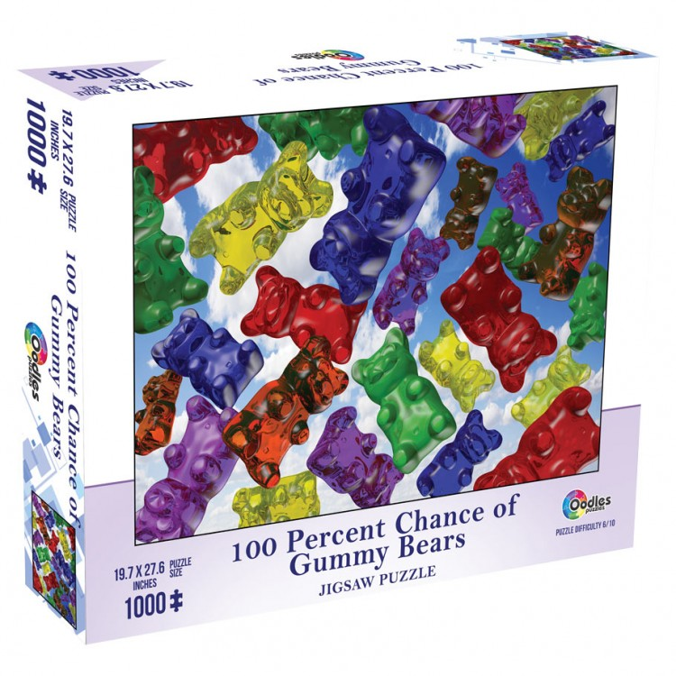 Puzzle:100% Chance of Gummy Bears 1000pc