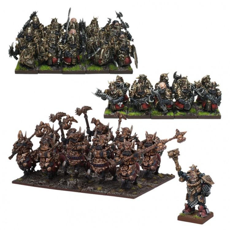 KoW3E: Abyssal: Dwarf Mega Army