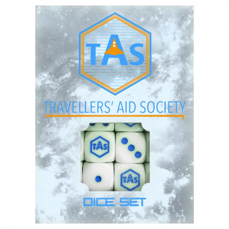 TRAV: Aid Society Dice Set