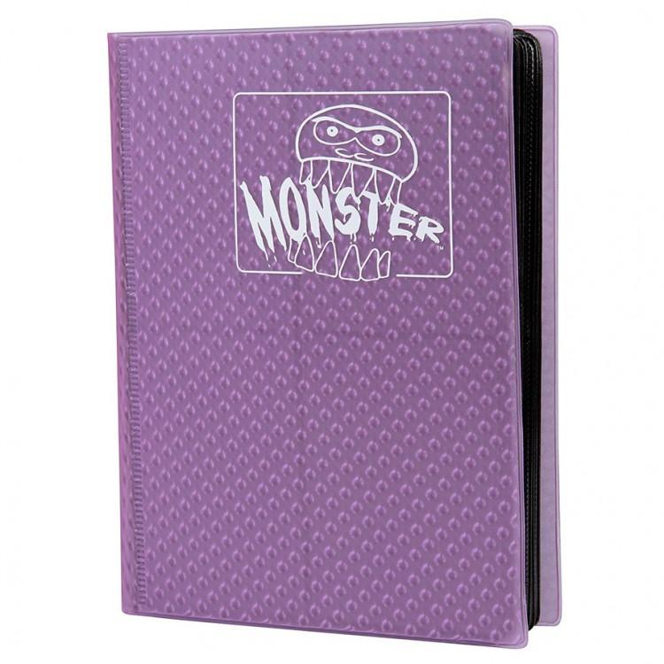 Binder: 4pkt: Monster: Holo PU