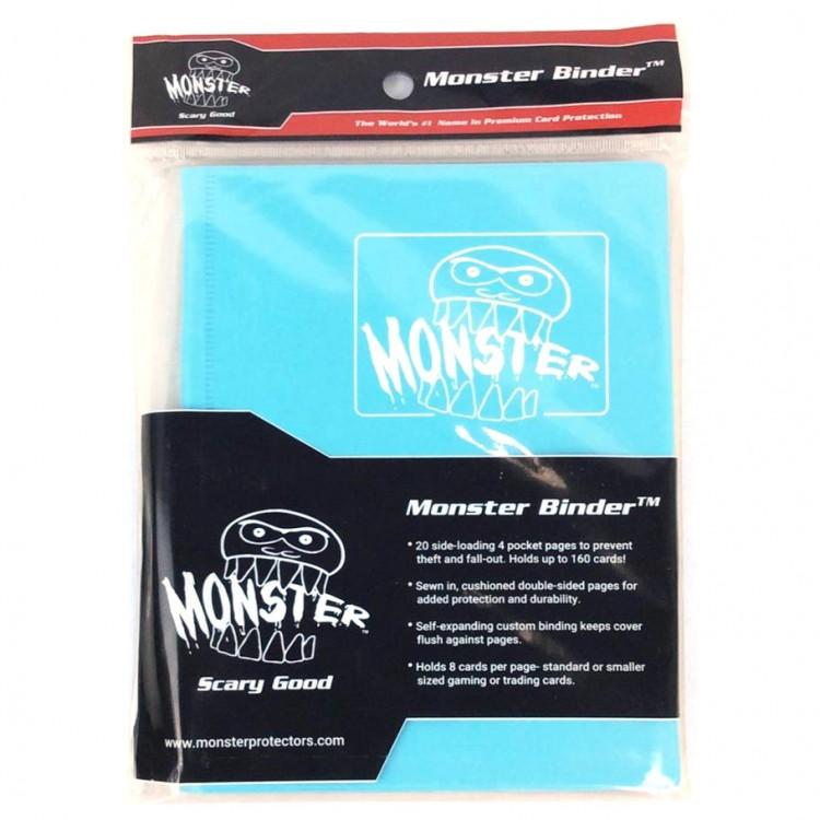 Binder: 4pkt: Monster: Matte BU
