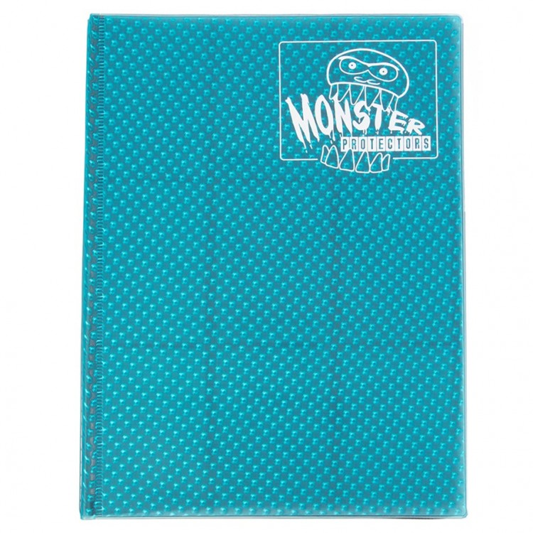 Binder: 4pkt: Monster: Holo Aqua BU