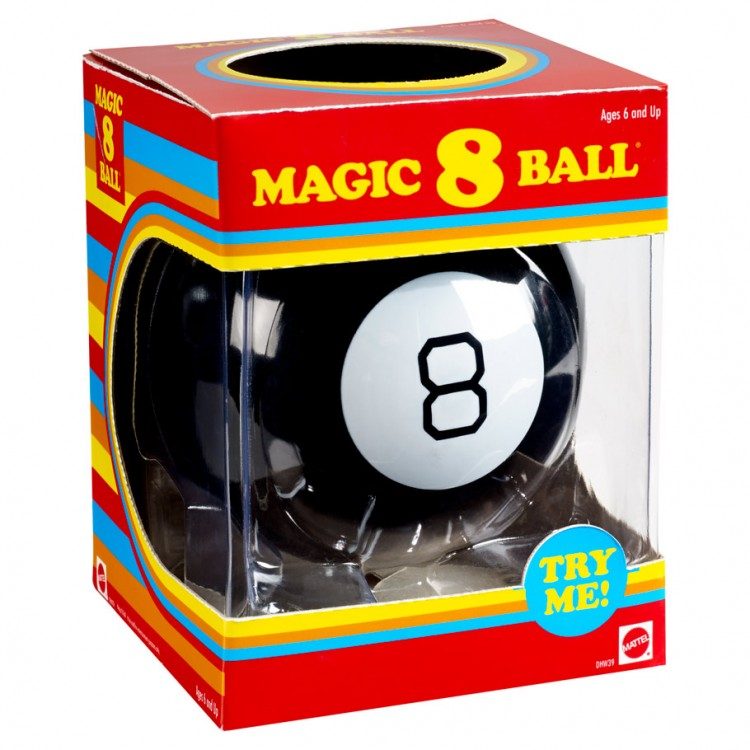 Magic 8 Ball Retro