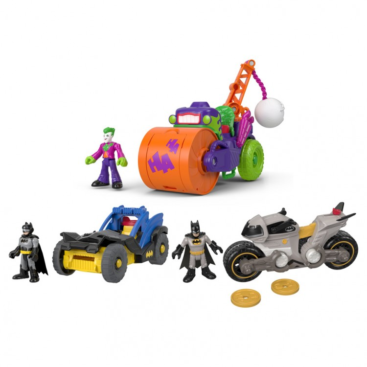 Imaginext: DC:SF: Vehicles Ast (4)