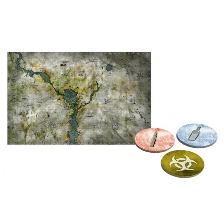 Mutant: Year Zero: Maps & Markers Pack