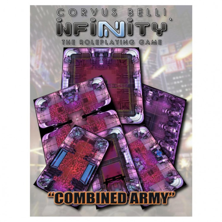 Infinity: Combined Army Geo Tile Set