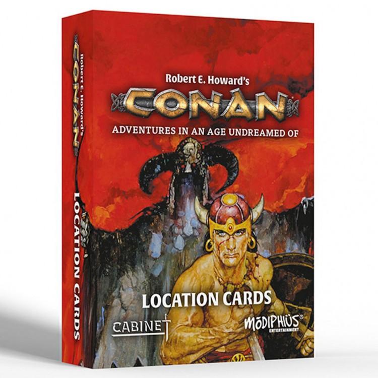 Conan RPG: Location Cards