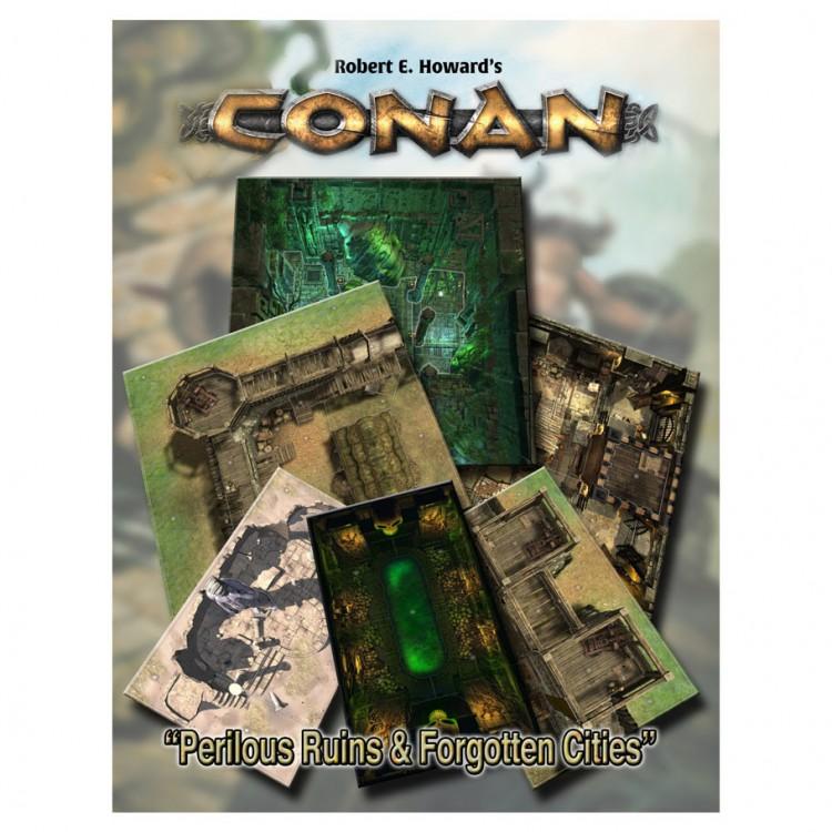 Conan: Perilous Ruins/Forgotten Cities