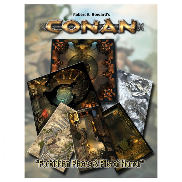 Conan: Forbidden Places/Pits of Horror
