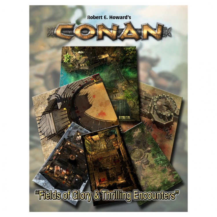 Conan: Fields Glory/Thrilling Encounters