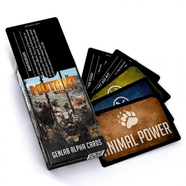 Mutant Year Zero: Genlab Alpha Deck