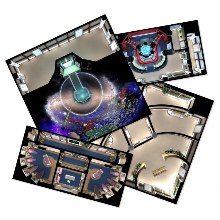 Star Trek Adv: TNG Deck Tiles