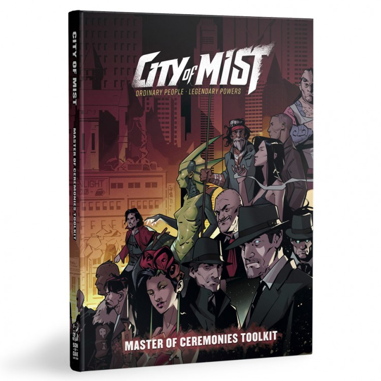 City of Mist RPG: MC Toolkit