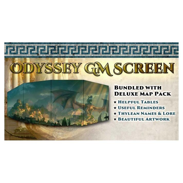 Odyssey o/t Dragonlords: GM Screen & Map