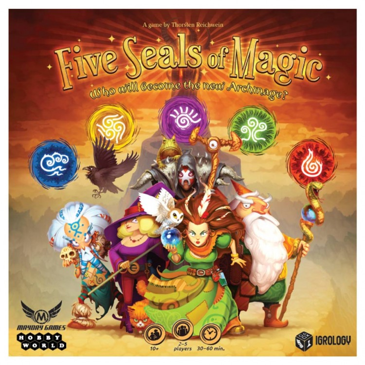 Five Seals of Magic Early Launch Kit