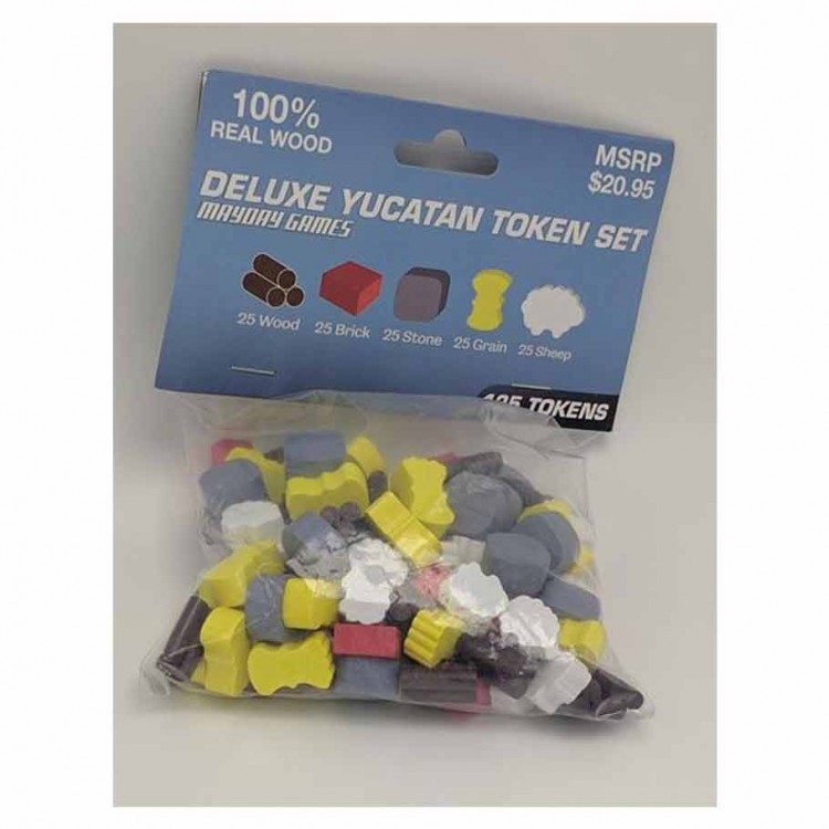 Yucatan Deluxe Token Set 5-6 Player Set