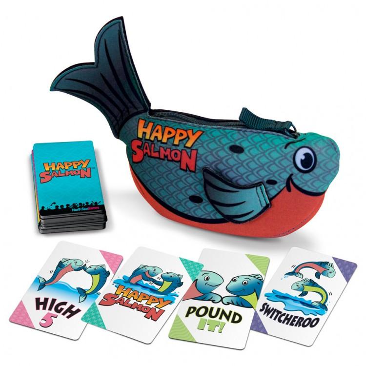 Happy Salmon: Blue Fish