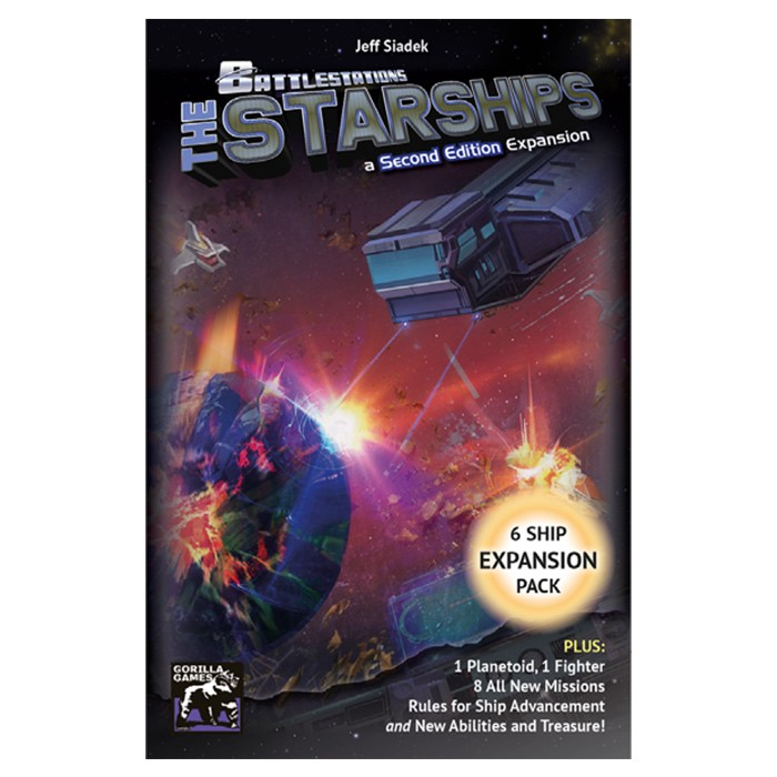 Battlestations: Starships Miniature Pk