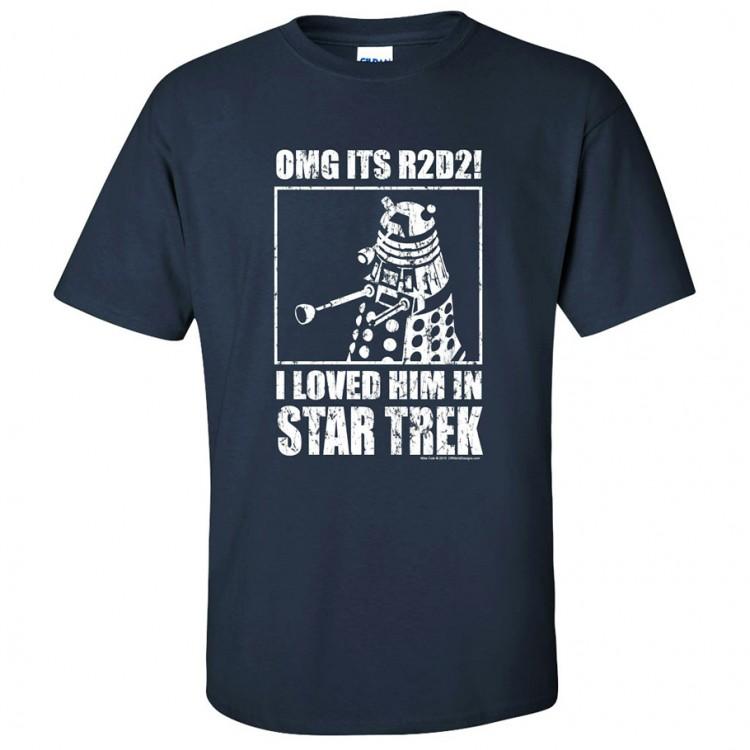 R2D2! I Loved Him in Star Trek (M)