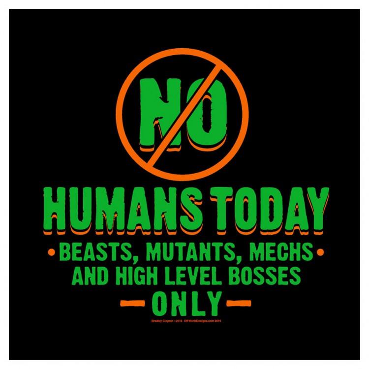 No Humans (2XL)