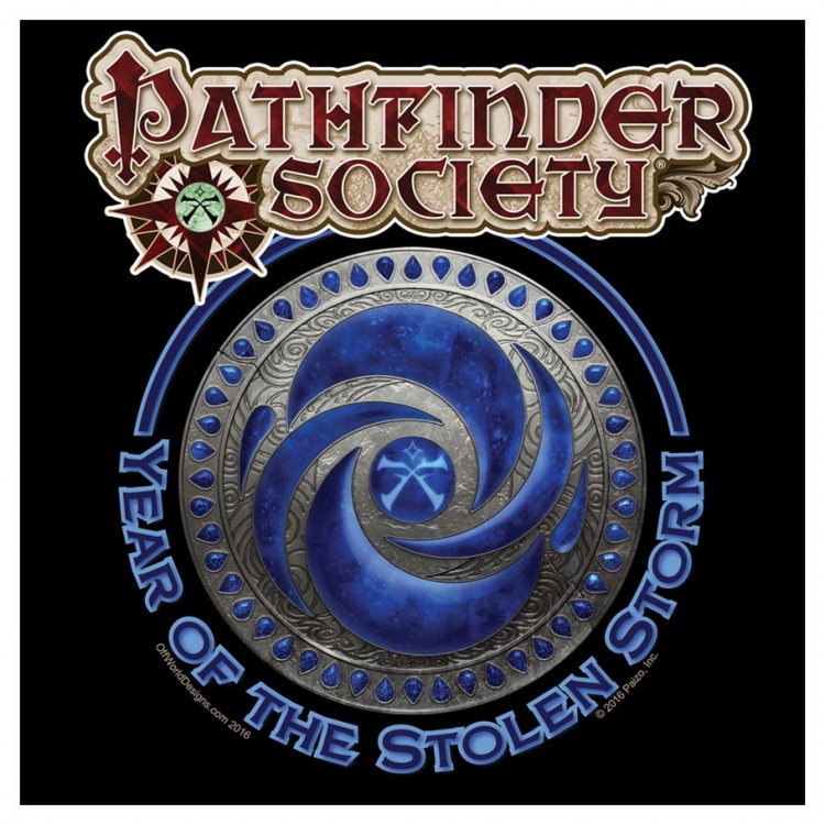 Pathfinder Year of the Stolen Storm(5XL)
